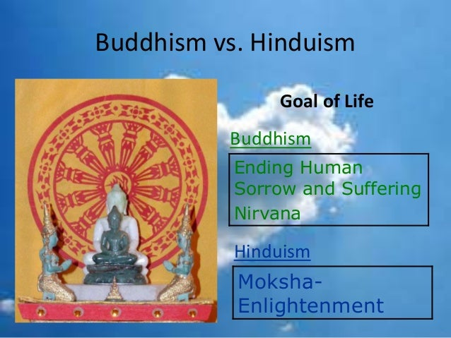 the goals of hinduism and buddhism