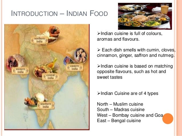 importance of indian food