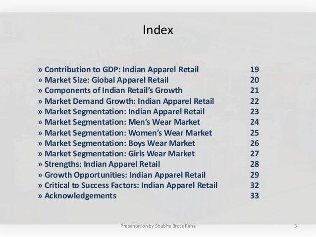 Apparel Retail in India Slide 3