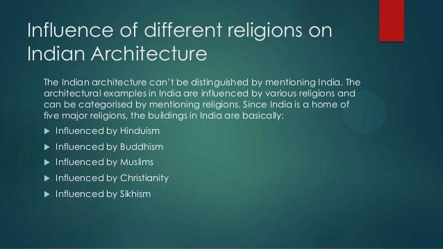 role of religion in architecture