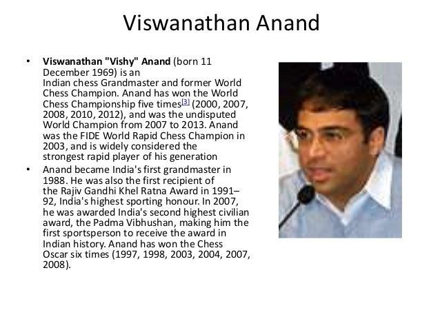 Essay On Viswanathan Anand - hepatitze
