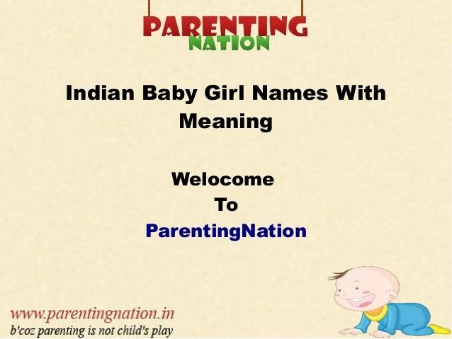 Indian Baby Boy Names - NRIOL
