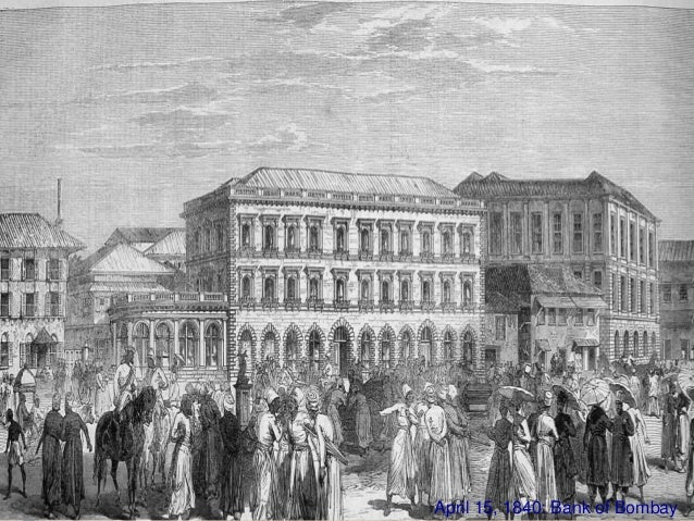 July 1, 1843: Bank of Madras 1861: Paper Currency Act passed.