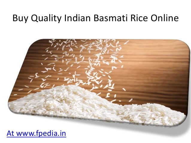 Indian Basmati rice suppliers
