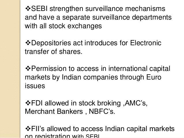 Measures Regarding Capital Market Reforms: 5 Measures