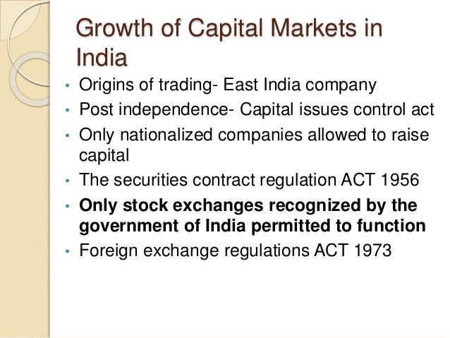 recommendations on indian capital market reforms There is clearly some overlap here with the heterodox approach - especially on capital market reforms, on making sure domestically labour is mobile, on perhaps public-private partnership.