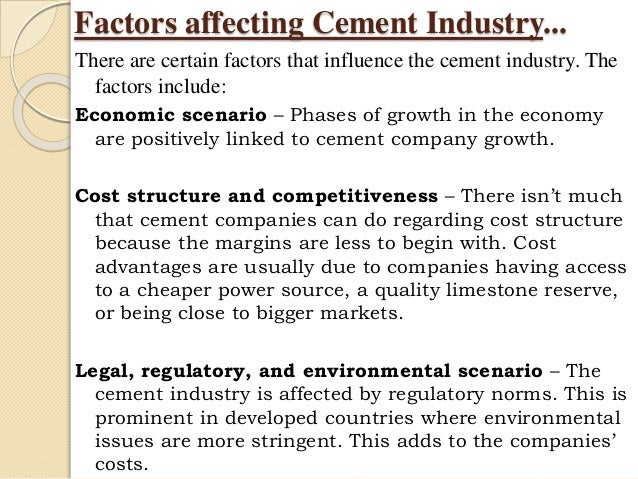analysis of indian cement industry The indian cement industry is the second largest producer of cement in the world  after china but ahead of us and japan the cement industry in india.
