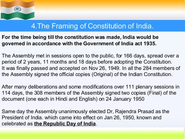 framing the constitution The constitution is founded to protect individual freedom it is a society where personal liberty, not a duty to the state, is central interestingly, despite this commitment, the framers of the constitution saw no need to provide a detailed statement of rights in the constitution they drafted.