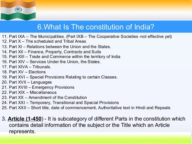 Constitution indian articles pdf of important