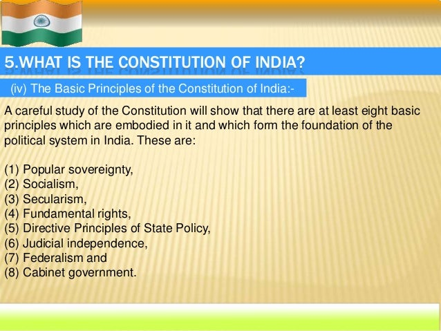 our constitution india essay The indian constitution, which stands for national goals like democracy, socialism, secularism and national integration, was framed by the representatives of indian people after a long period of.