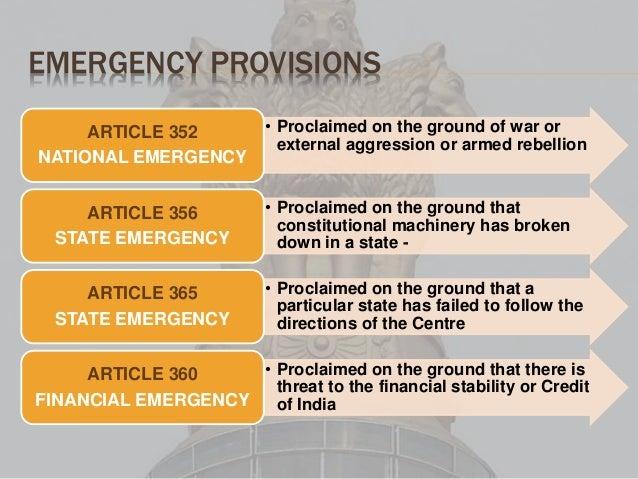 National Emergency