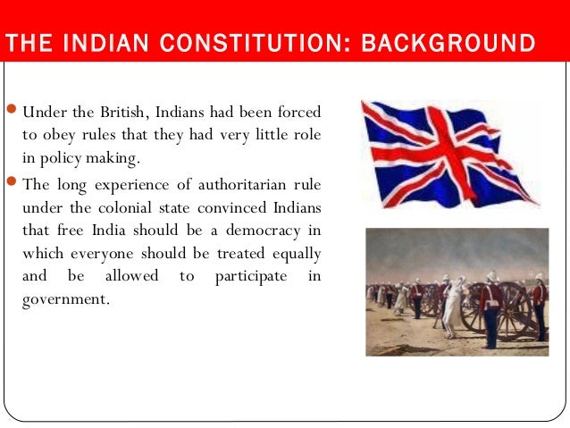 Indian Constitution & Rights and Duties of a citizen