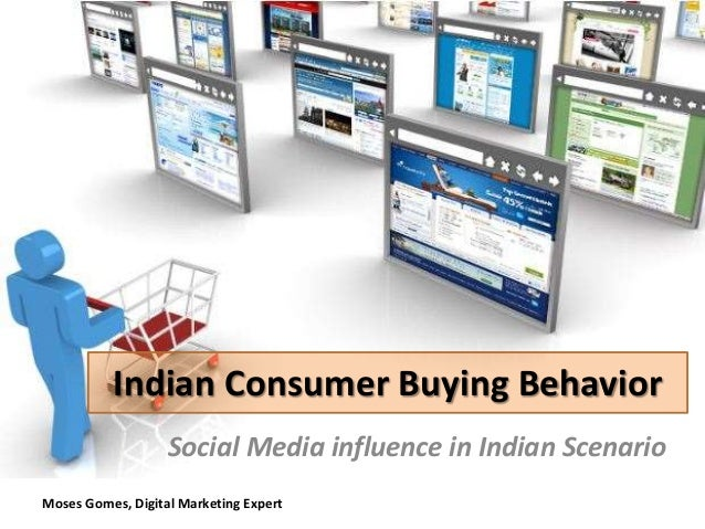 social media on consumer buying behaviour