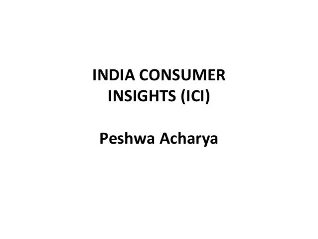 indian consumer insights Consumer and market insights: savory snacks market in india provides an overview of the market, analyzing market data, demographic consumption patterns within the category, and the key consumer.