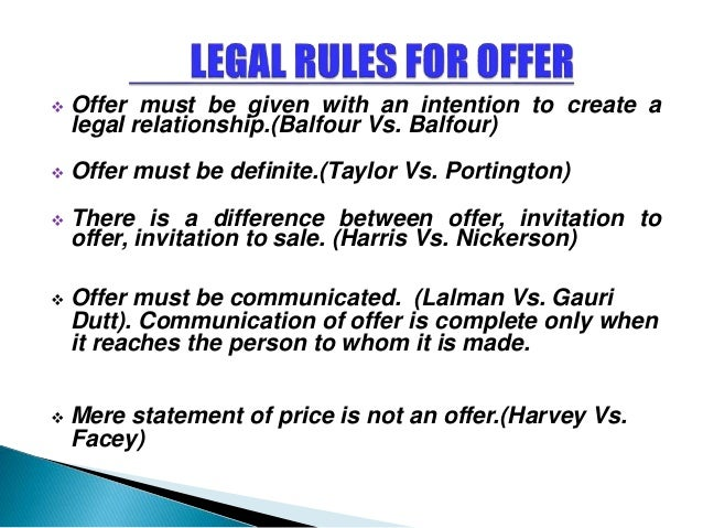 harvey and facey A's letter of the 14th was under the circumstances only a fresh offer and as b had  not accepted it there was no concluded contract in favour of a harvey v facey.