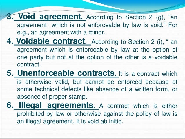 Imgenes De Difference Between Void Agreement And Unlawful Agreement