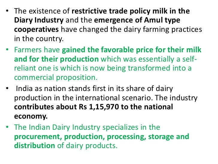 Indian dairy industry essay help