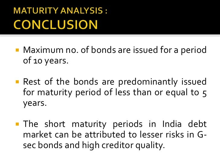 analysis of bonds market Notice: information contained herein is not and should not be construed as an offer, solicitation, or recommendation to buy or sell securities.