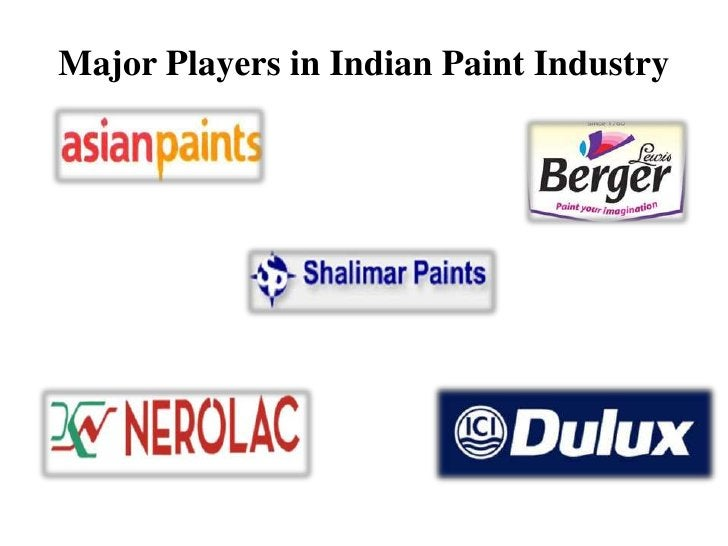 Major Players in Indian Paint Industry