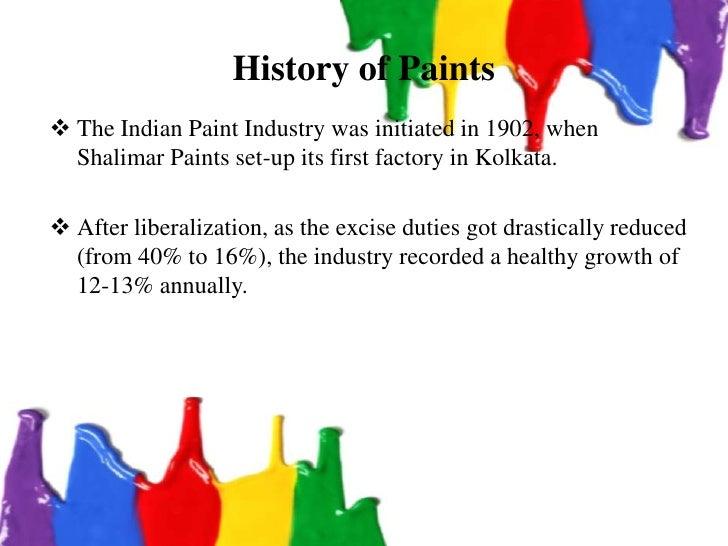 Indian decorative paint industry Slide 3