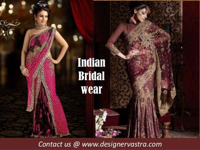 Contact us @ www.designervastra.comIndianBridalwear