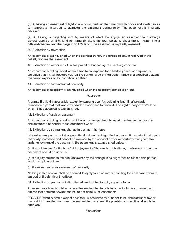 indian easement act After referring to the definition of licence in section 52 of the easement act,  coupled with an interest as envisaged under section 202 of the indian contract act.
