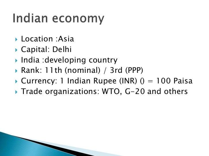 Essay indian economy