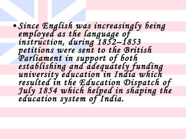 Essay on progress of education in india