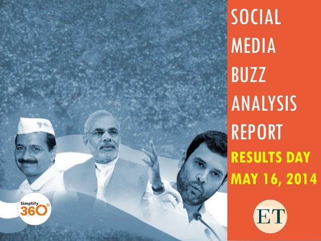 SOCIAL MEDIA BUZZ ANALYSIS REPORT RESULTS DAY MAY 16, 2014