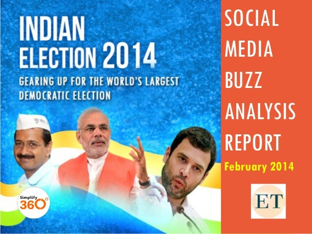 SOCIAL MEDIA BUZZ ANALYSIS REPORT February 2014