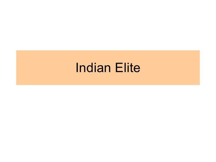 Indian Elite