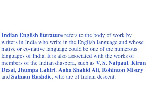 Indian writers in english essay sample