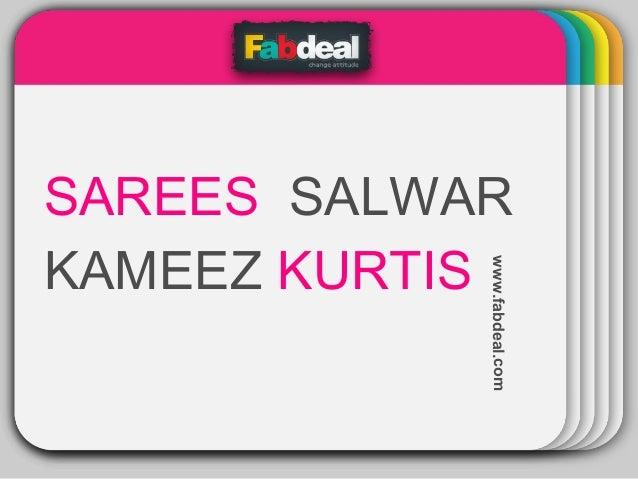 WINTER Template  www.fabdeal.com  SAREES SALWAR KAMEEZ KURTIS