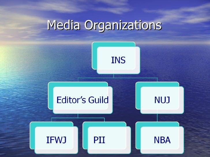 Media Organizations
