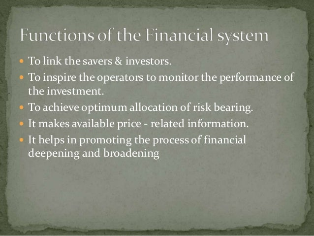  To link the savers & investors. To inspire the operators to monitor the performance of  the investment. To achieve opt...