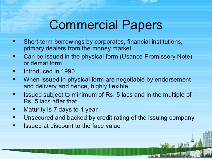 Research papers for financial matters in india
