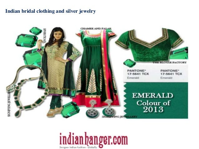 Indian bridal clothing and silver jewelry