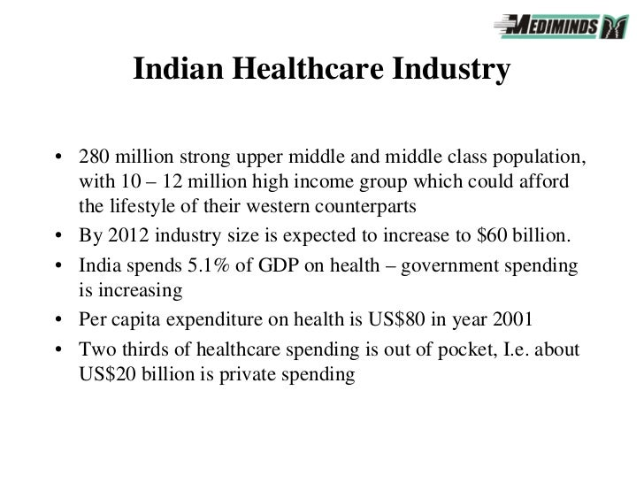 indian healthcare The mhealth case in india  while 69% of indian  healthcare facilitiesmhealth has potential to fill the gaps in the system.