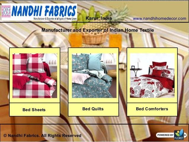 Indian home textile manufacturer exporter amp wholesaler : indian home textile manufacturer exporter wholesaler 5 638 from www.slideshare.net size 638 x 479 jpeg 122kB