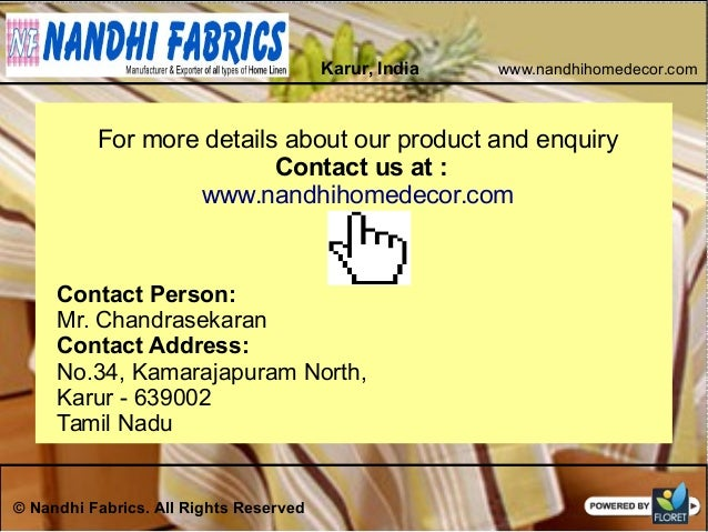Indian Home Textile Manufacturer Exporter Wholesaler