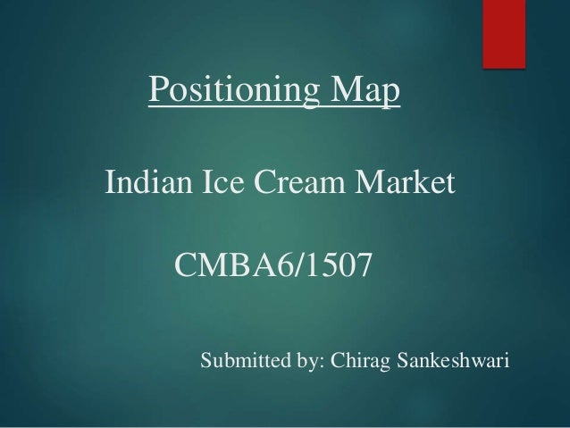 project report on indian ice cream market The report ice cream in india, published by euromonitor international in april the indian ice cream market is growing at the rate of 35% year-on-year and hence makes for an attractive destination for international brands, adds gaurav marya.