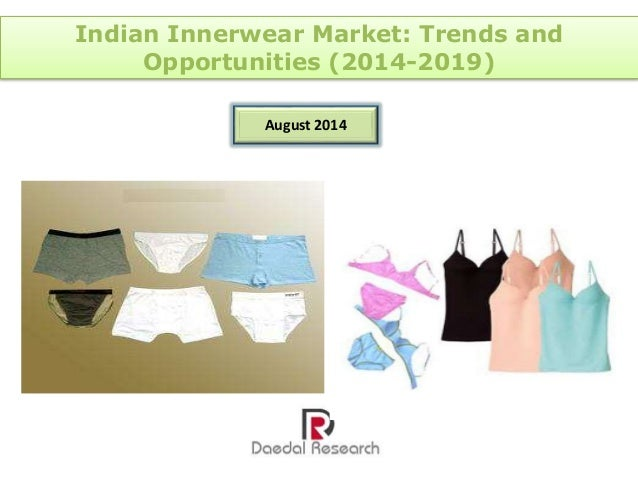 innerwear market India innerwear market size by value andvolume, 2006-2011the indian innerwear market had shown a continuous increase in value over the period 2006-2011 at a cagr of 1461.