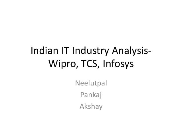 Project Report on Financial analysis of Infosys and Wipro