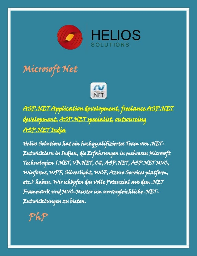 Microsoft NetASP.NET Application development, freelance ASP.NETdevelopment, ASP.NET specialist, outsourcingASP.NET IndiaHe...