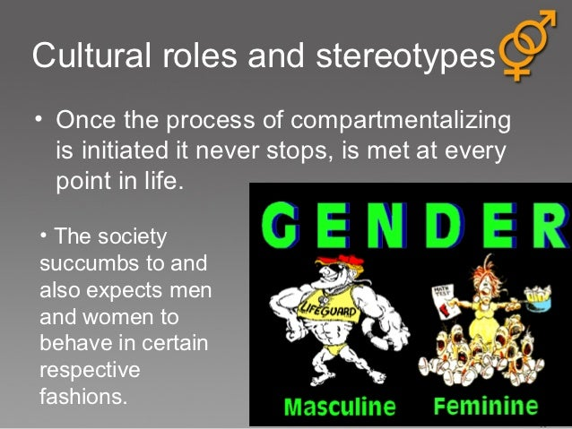 gender roles and stereotypes essays Gender stereotypes and perceptions in society the violation of these gender role stereotypes are if you are the original writer of this essay and no.