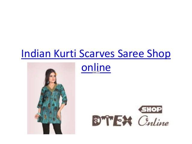 Indian Kurti Scarves Saree Shop  online