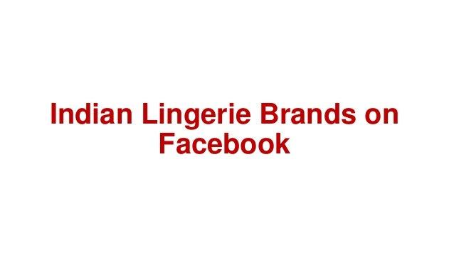 Indian Lingerie Brands on Facebook