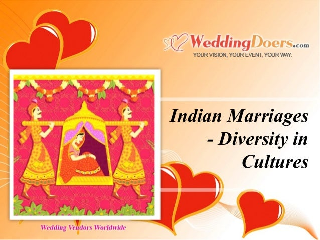 Indian Marriages - Diversity in Cultures