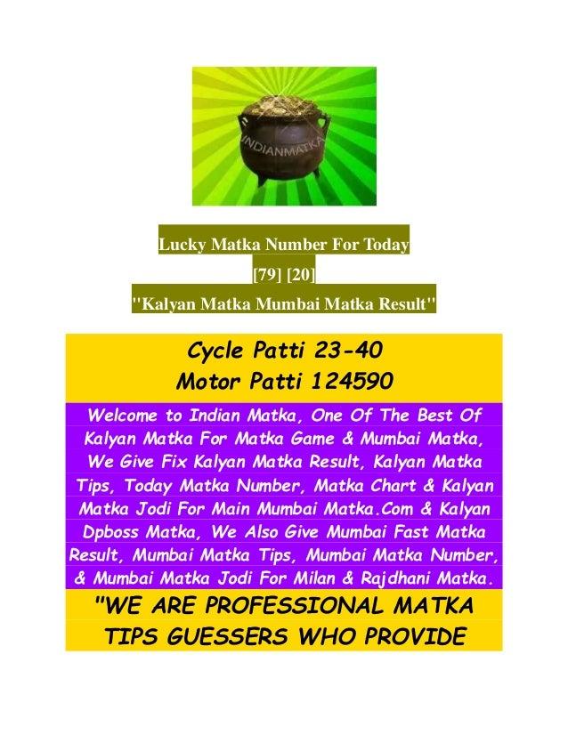 Indianmatka: matka tips and matka results for kalyan matka