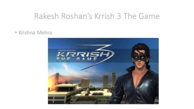 Rakesh Roshan's Krrish 3 The Game • Krishna Mehra